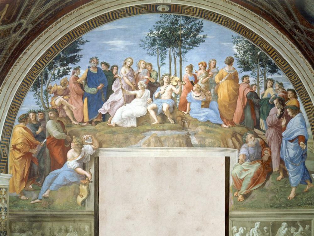 Raphael Parnassus, Kanvas Tablo, Raphael, kanvas tablo, canvas print sales