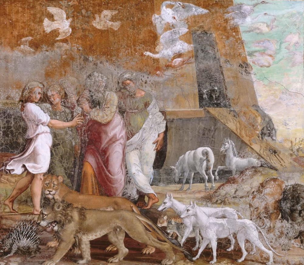 Raphael Leaving The Ark On Mount Ararat, Canvas, Raphael, kanvas tablo, canvas print sales