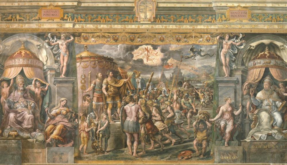 Raphael School of Vision of the Cross, Canvas, Raphael, kanvas tablo, canvas print sales