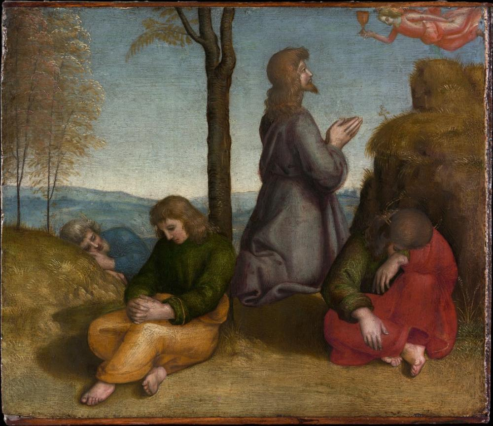 Raphael Bahçedeki Acı, Kanvas Tablo, Raphael, kanvas tablo, canvas print sales