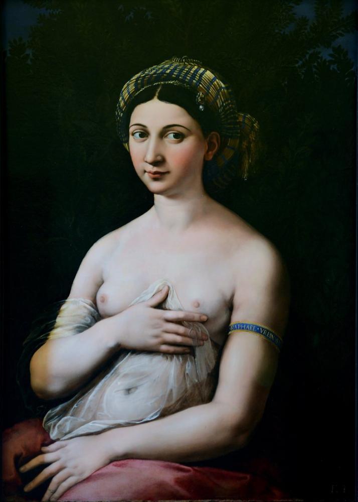 Raphael La Fornarina, Kanvas Tablo, Raphael, kanvas tablo, canvas print sales