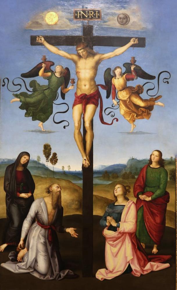 Raphael Çarmıha Gerilme Mond, Kanvas Tablo, Raphael, kanvas tablo, canvas print sales