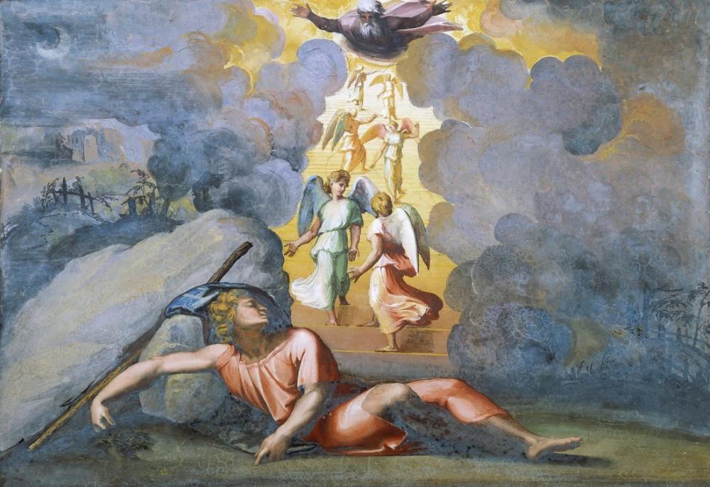 Raphael Yakup Rüyası, Kanvas Tablo, Raphael, kanvas tablo, canvas print sales