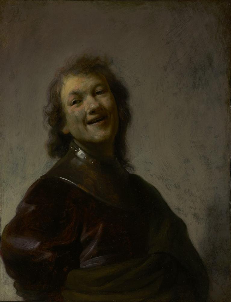 Rembrandt van Rijn, Laughing, Canvas, Rembrandt, kanvas tablo, canvas print sales