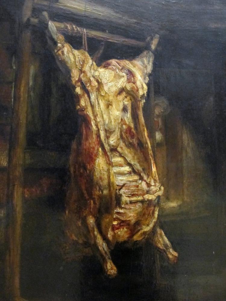 Rembrandt van Rijn, Çeyrek Öküz, Kanvas Tablo, Rembrandt, kanvas tablo, canvas print sales