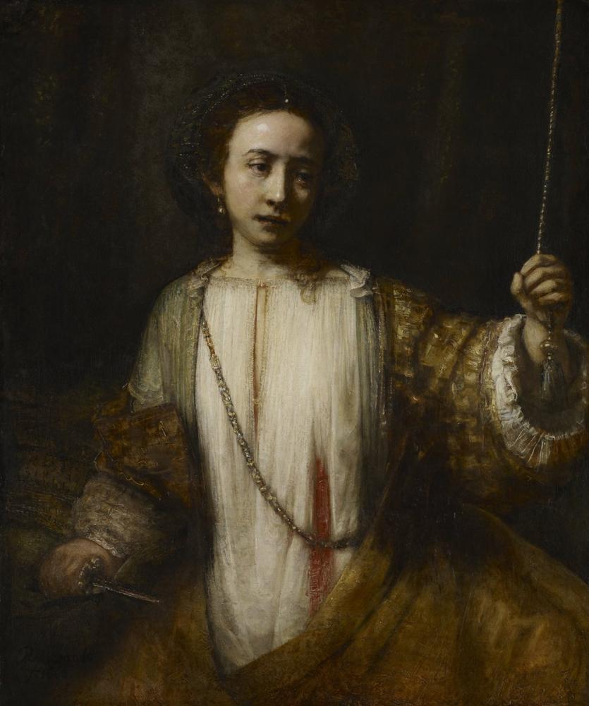 Rembrandt van Rijn, Lucretia, Canvas, Rembrandt, kanvas tablo, canvas print sales