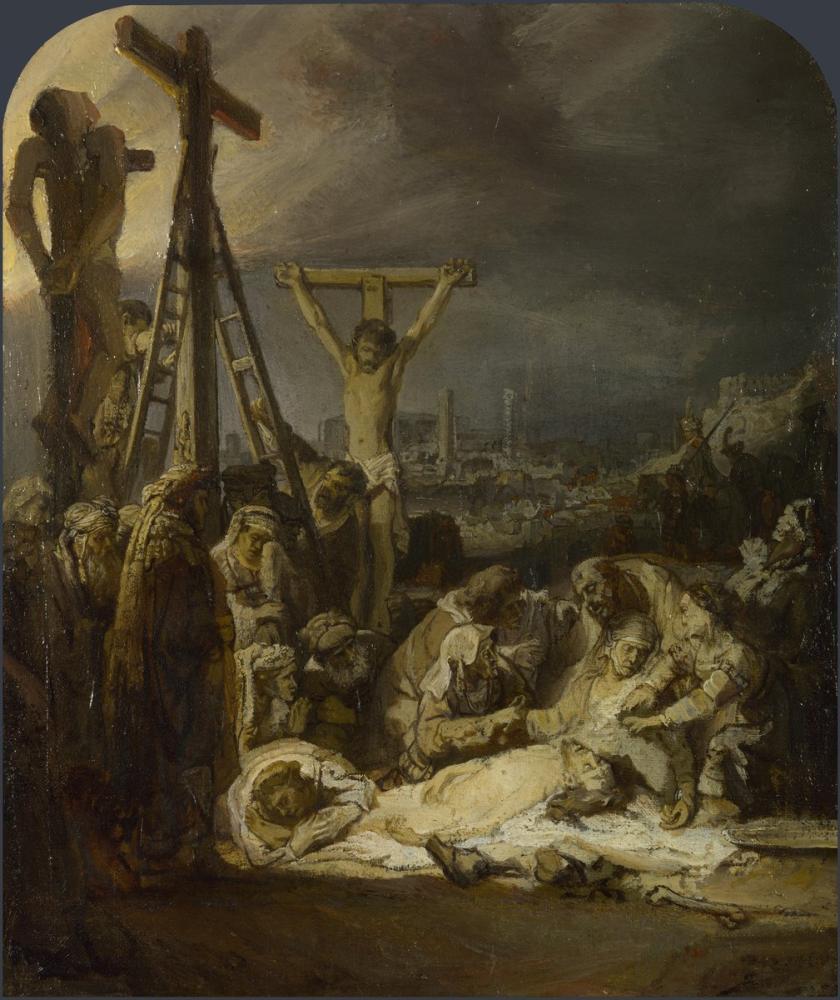 Rembrandt van Rijn, Lamentation Over The Dead Christ, Canvas, Rembrandt, kanvas tablo, canvas print sales