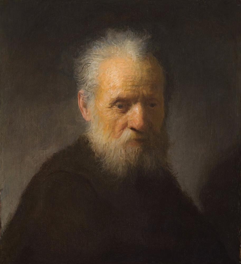 Rembrandt van Rijn, An Old Man With Beard, Canvas, Rembrandt, kanvas tablo, canvas print sales