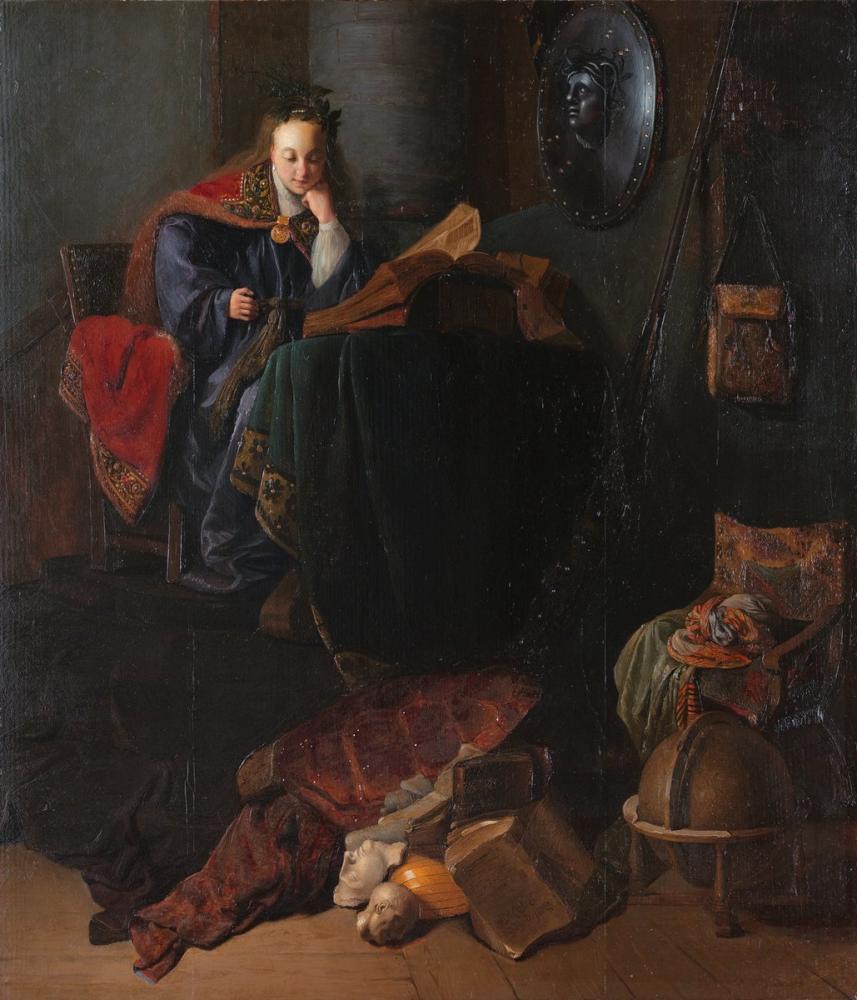 Rembrandt van Rijn, Minerva, Kanvas Tablo, Rembrandt, kanvas tablo, canvas print sales