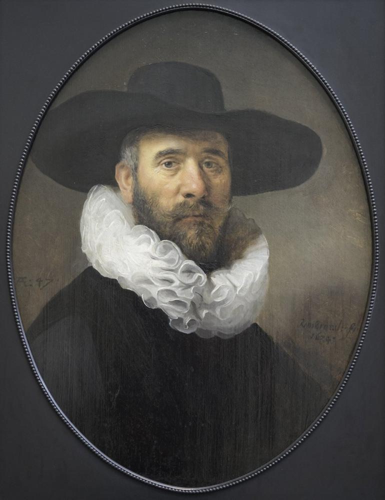 Rembrandt van Rijn, Dirk Jansz Pesser Portresi, Kanvas Tablo, Rembrandt, kanvas tablo, canvas print sales