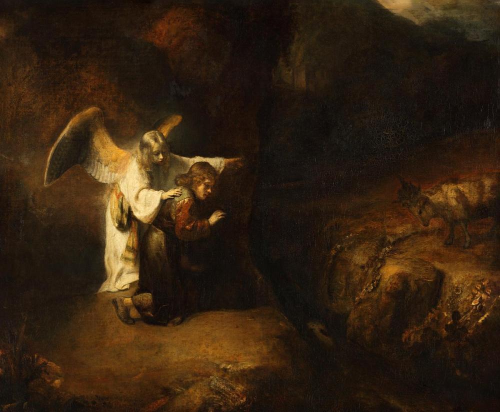 Rembrandt van Rijn, Daniel s Vision, Canvas, Rembrandt, kanvas tablo, canvas print sales