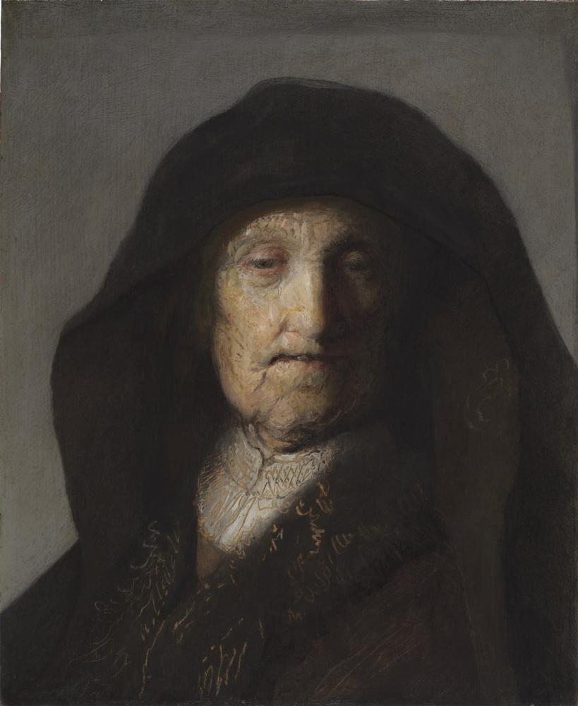 Rembrandt van Rijn, Onun Annesi, Kanvas Tablo, Rembrandt, kanvas tablo, canvas print sales