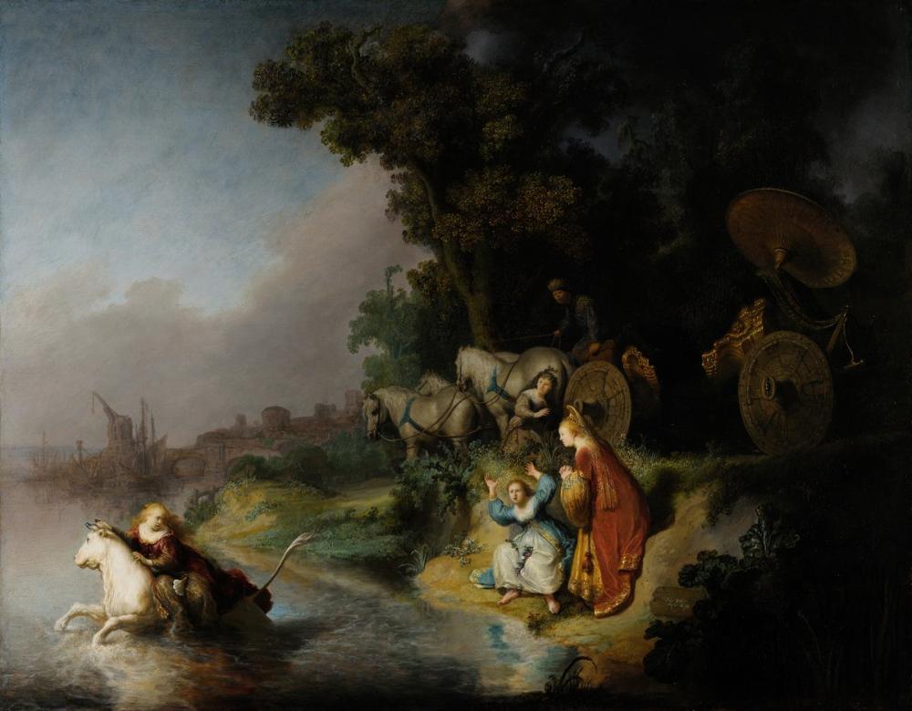 Rembrandt van Rijn, Europa nın Kaçırılması, Kanvas Tablo, Rembrandt, kanvas tablo, canvas print sales