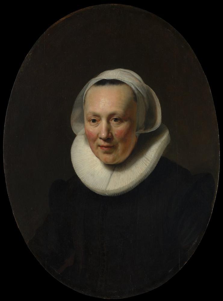 Rembrandt van Rijn, Portrait Of A Woman, Canvas, Rembrandt, kanvas tablo, canvas print sales