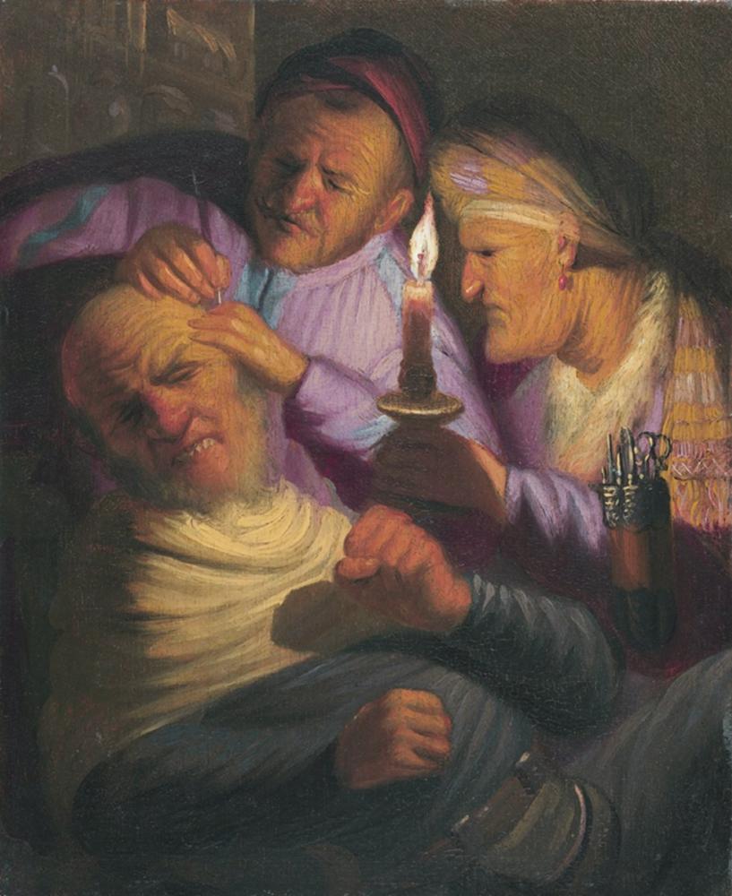 Rembrandt van Rijn, The Operation Feeling, Canvas, Rembrandt, kanvas tablo, canvas print sales