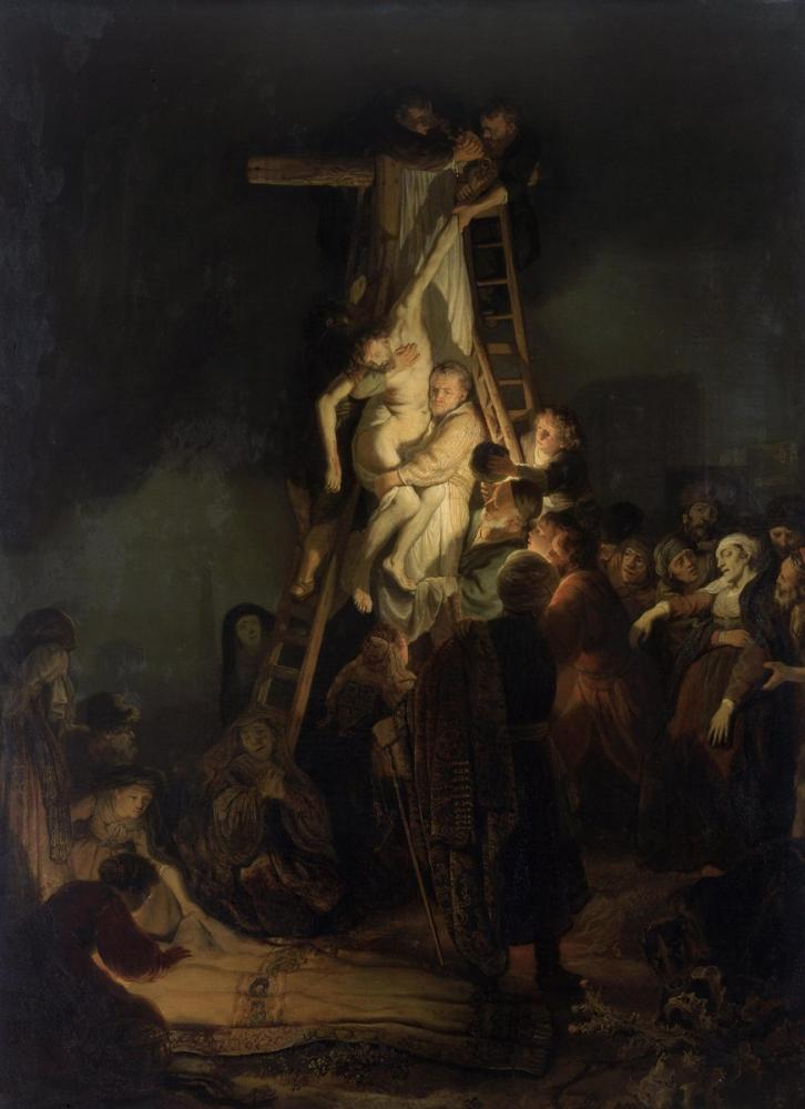 Rembrandt van Rijn, Descent From The Cross, Canvas, Rembrandt, kanvas tablo, canvas print sales