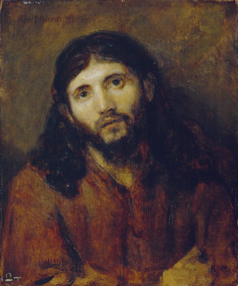 Rembrandt van Rijn, Christ, Canvas, Rembrandt, kanvas tablo, canvas print sales