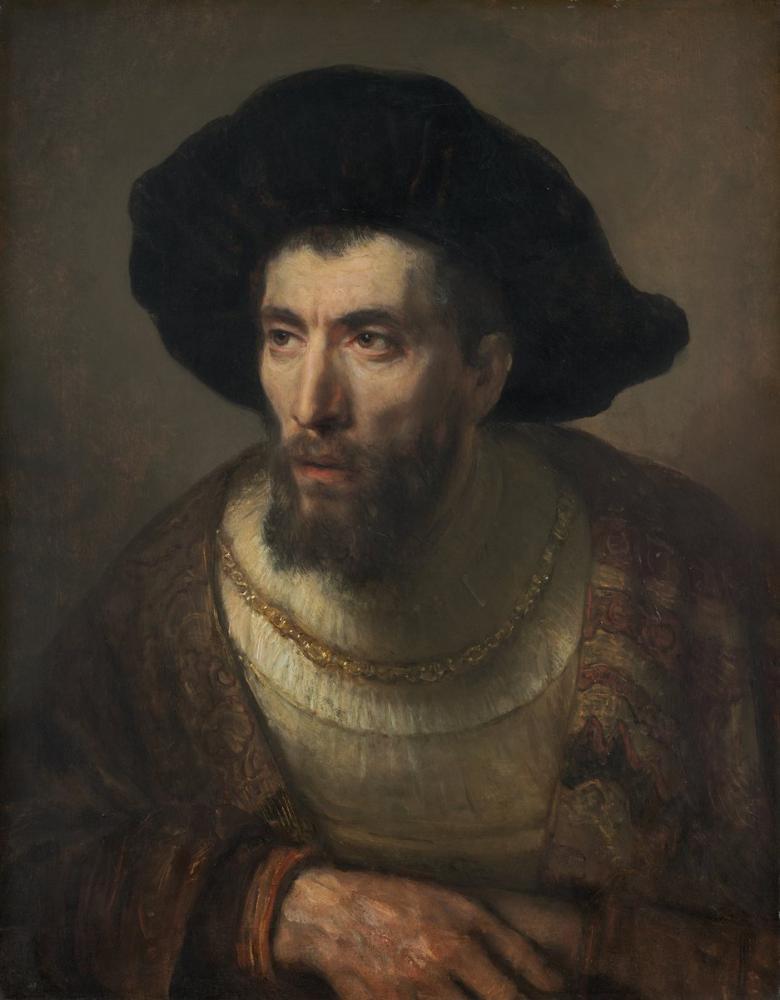 Rembrandt van Rijn, Filozof, Kanvas Tablo, Rembrandt, kanvas tablo, canvas print sales