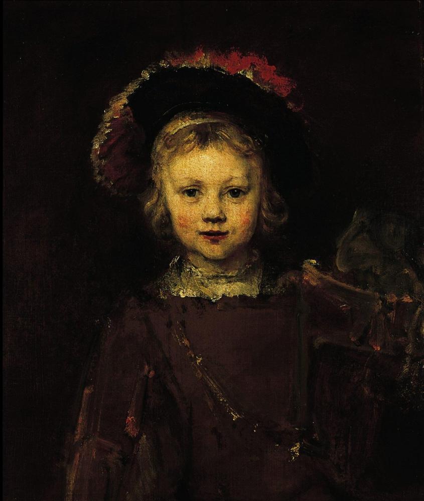 Rembrandt van Rijn, Portrait Of A Boy, Canvas, Rembrandt, kanvas tablo, canvas print sales
