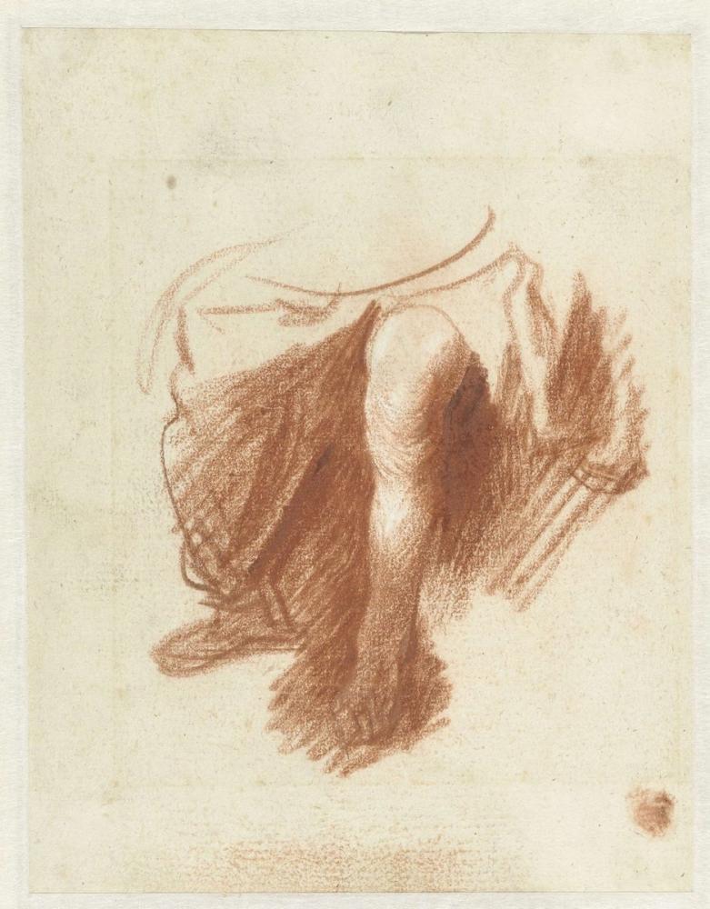 Rembrandt van Rijn, Oturmuş Bir Kadının Bacaklarının İncelenmesi, Figür, Rembrandt, kanvas tablo, canvas print sales