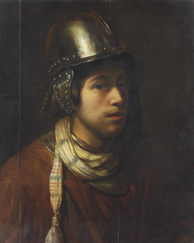 Rembrandt van Rijn, Tronie Giyen Genç Bir Adamın Çemberi, Kanvas Tablo, Rembrandt, kanvas tablo, canvas print sales