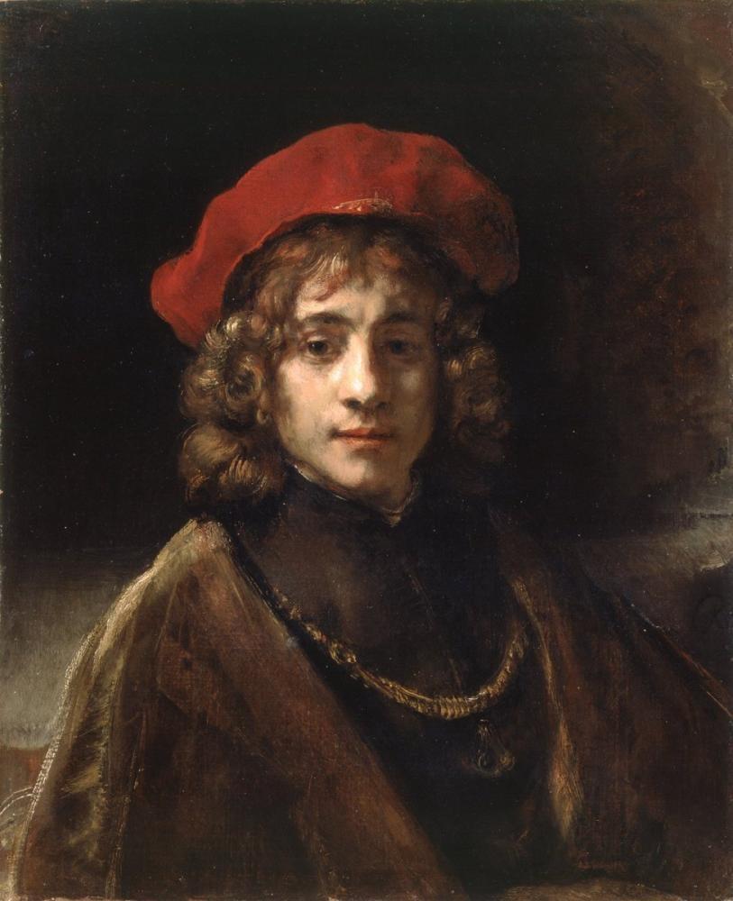 Rembrandt van Rijn, The Artist s Son, Canvas, Rembrandt, kanvas tablo, canvas print sales