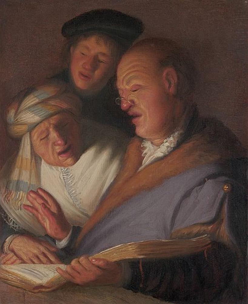 Rembrandt van Rijn, Hearing, Canvas, Rembrandt, kanvas tablo, canvas print sales