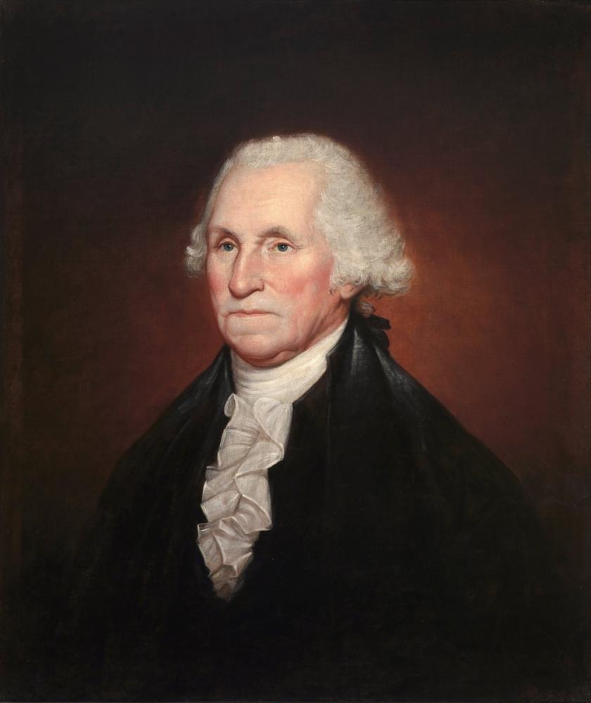Rembrandt van Rijn, Peale George Washington, Canvas, Rembrandt, kanvas tablo, canvas print sales