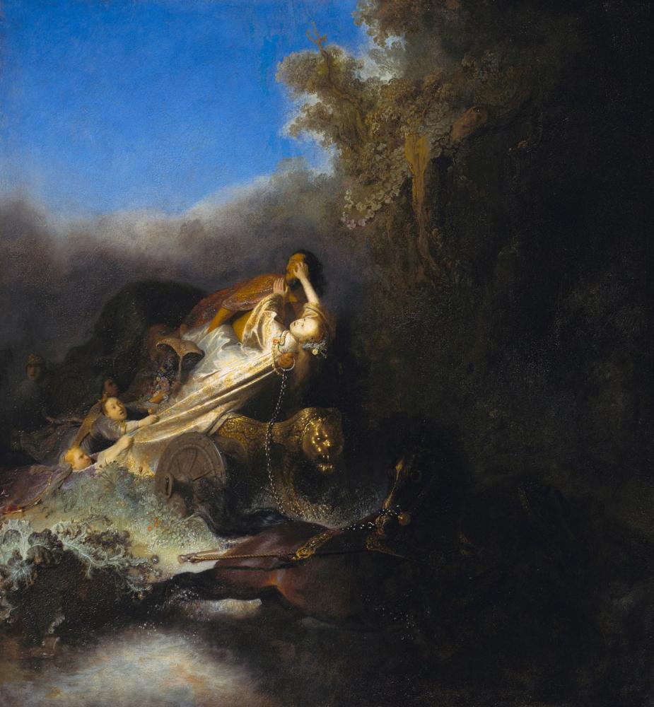 Rembrandt van Rijn, The Rape Of Proserpine, Canvas, Rembrandt, kanvas tablo, canvas print sales