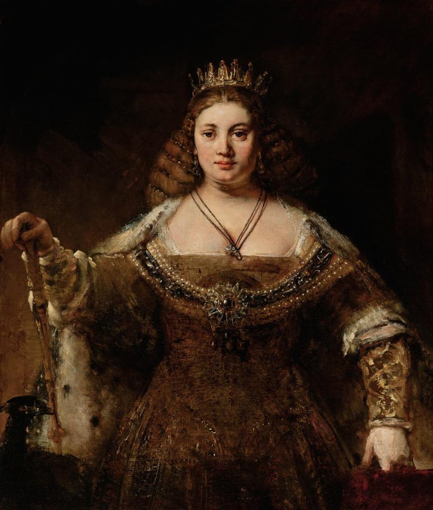 Rembrandt van Rijn, Juno, Canvas, Rembrandt, kanvas tablo, canvas print sales