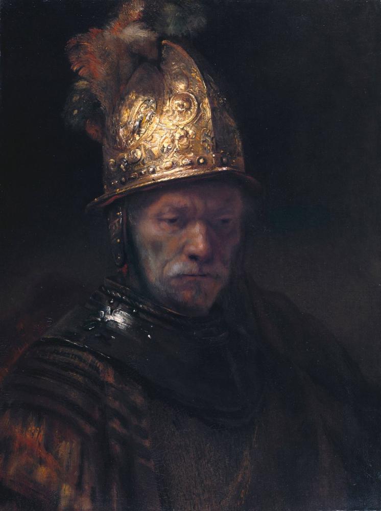 Rembrandt van Rijn, The Man With The Golden Helmet, Canvas, Rembrandt, kanvas tablo, canvas print sales