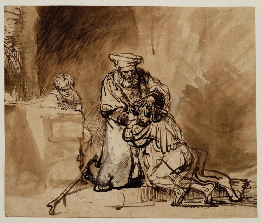 Rembrandt van Rijn, Savurgan Oğul Dönüşü, Kanvas Tablo, Rembrandt, kanvas tablo, canvas print sales