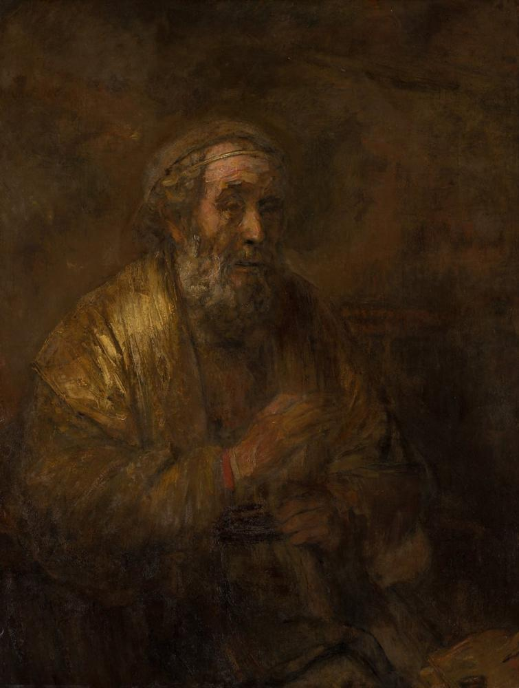 Rembrandt van Rijn, Homerus, Canvas, Rembrandt, kanvas tablo, canvas print sales