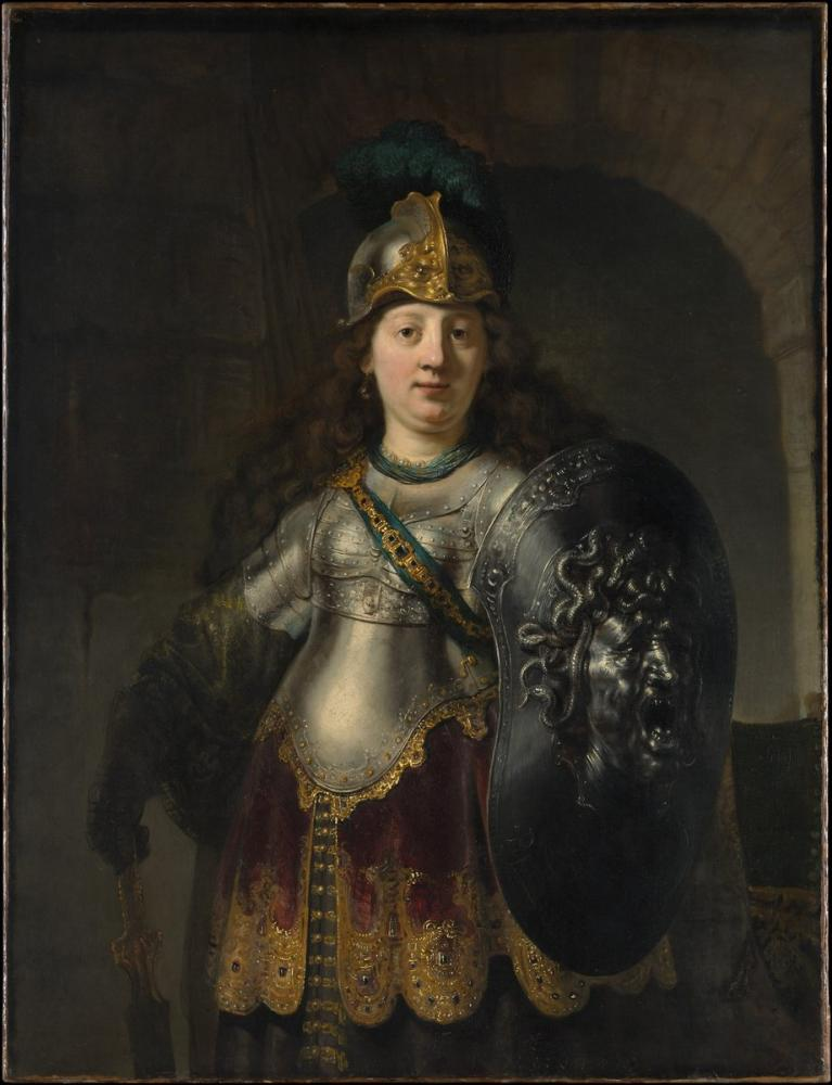 Rembrandt van Rijn, Bellona, Canvas, Rembrandt, kanvas tablo, canvas print sales
