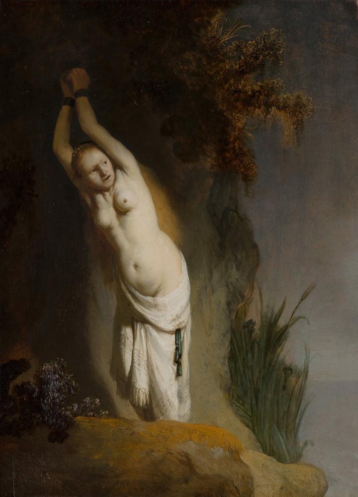 Rembrandt van Rijn, Andromeda, Canvas, Rembrandt, kanvas tablo, canvas print sales