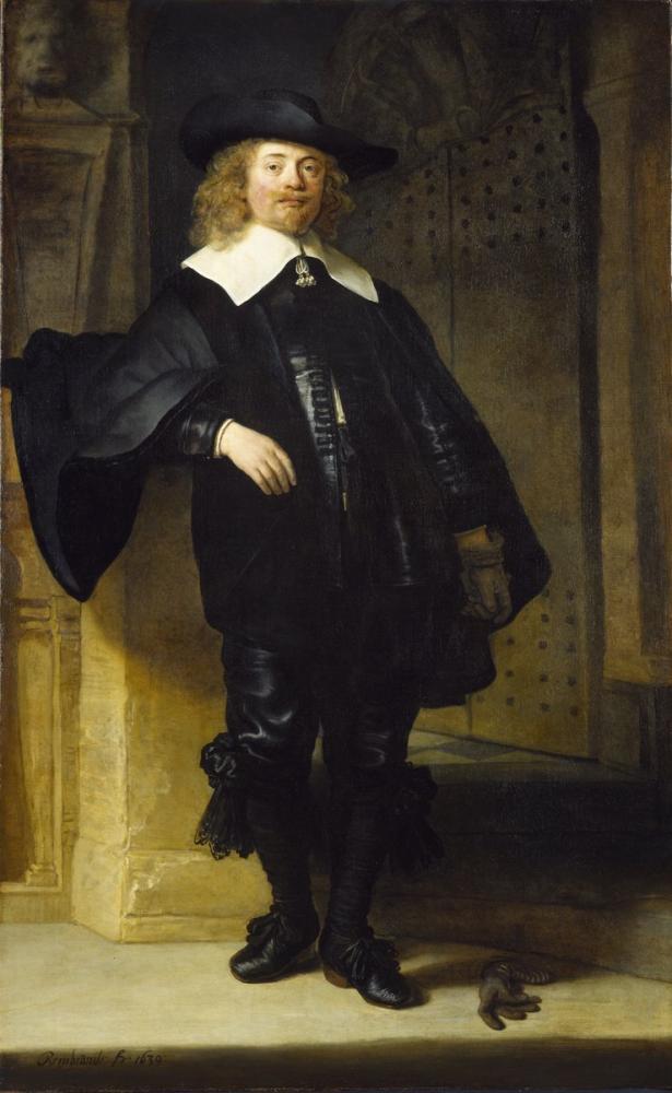 Rembrandt van Rijn, Portrait Of Andries de Graeff, Canvas, Rembrandt, kanvas tablo, canvas print sales