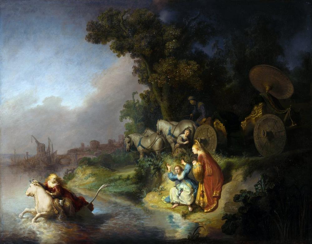 Rembrandt van Rijn, Avrupa nın Kaçırılması, Kanvas Tablo, Rembrandt, kanvas tablo, canvas print sales