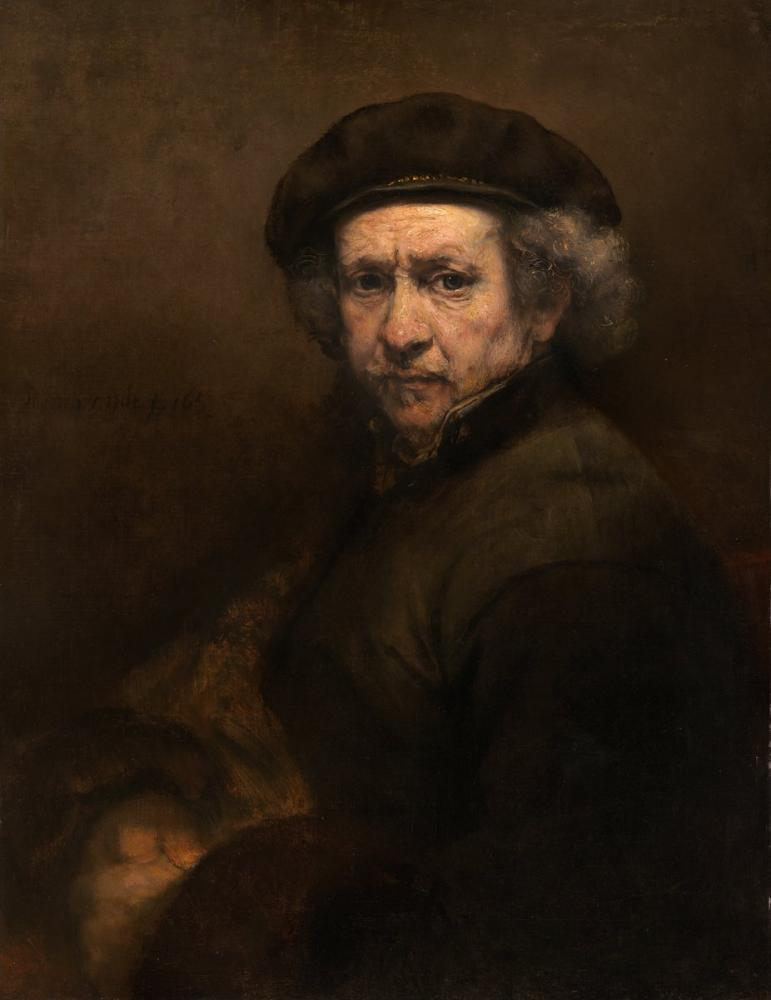 Rembrandt van Rijn, Otoportre, Kanvas Tablo, Rembrandt, kanvas tablo, canvas print sales