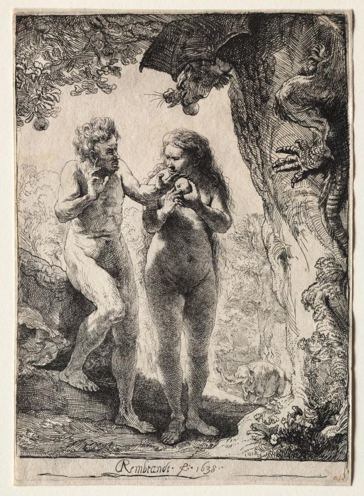 Rembrandt van Rijn, Adam And Eve, Canvas, Rembrandt, kanvas tablo, canvas print sales