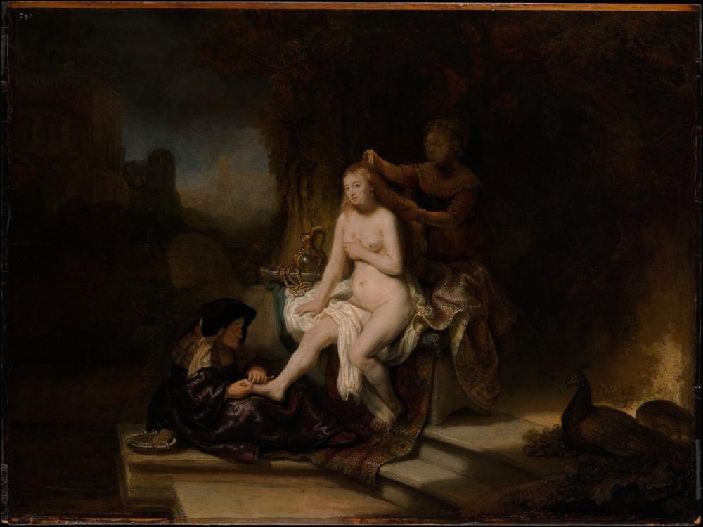 Rembrandt van Rijn, The Toilet Of Bathseba, Canvas, Rembrandt, kanvas tablo, canvas print sales