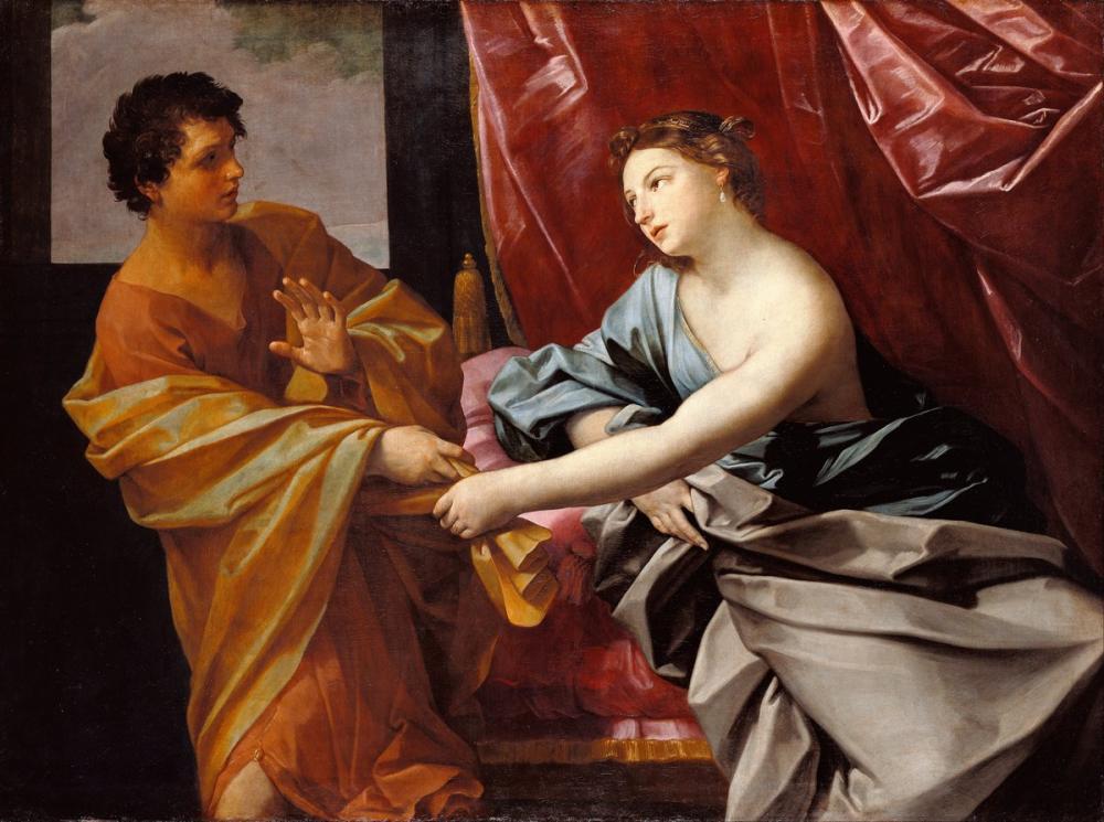 Rembrandt van Rijn, Guido Reni Italian Joseph And Potiphar s Wife, Canvas, Rembrandt, kanvas tablo, canvas print sales