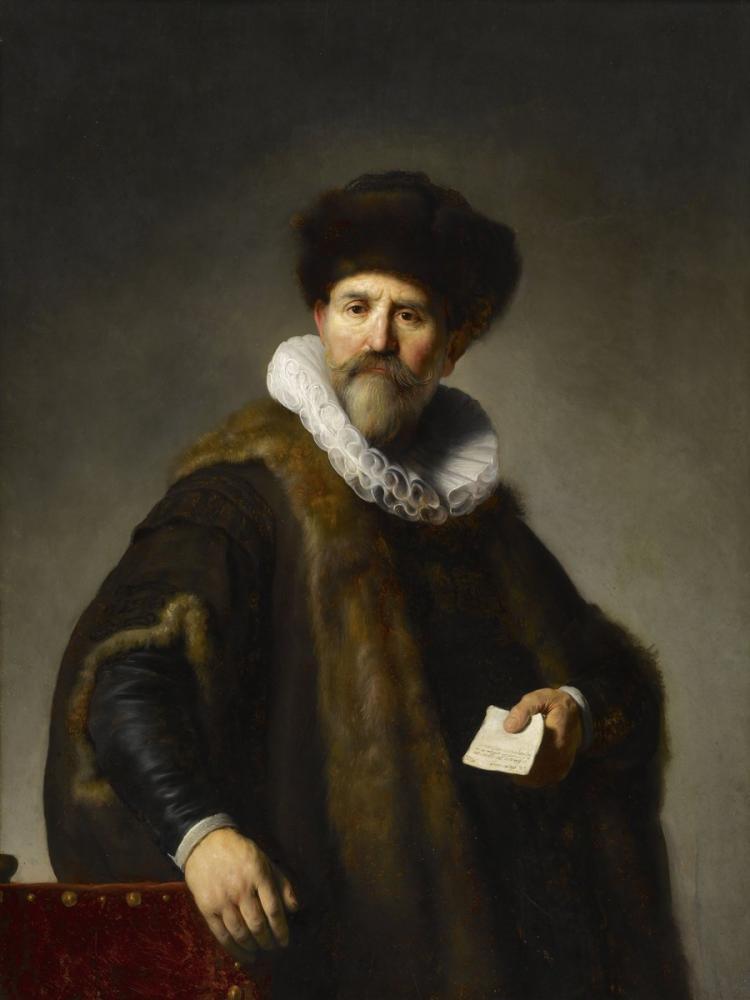 Rembrandt van Rijn, Portrait Of Nicolaes Ruts, Canvas, Rembrandt, kanvas tablo, canvas print sales