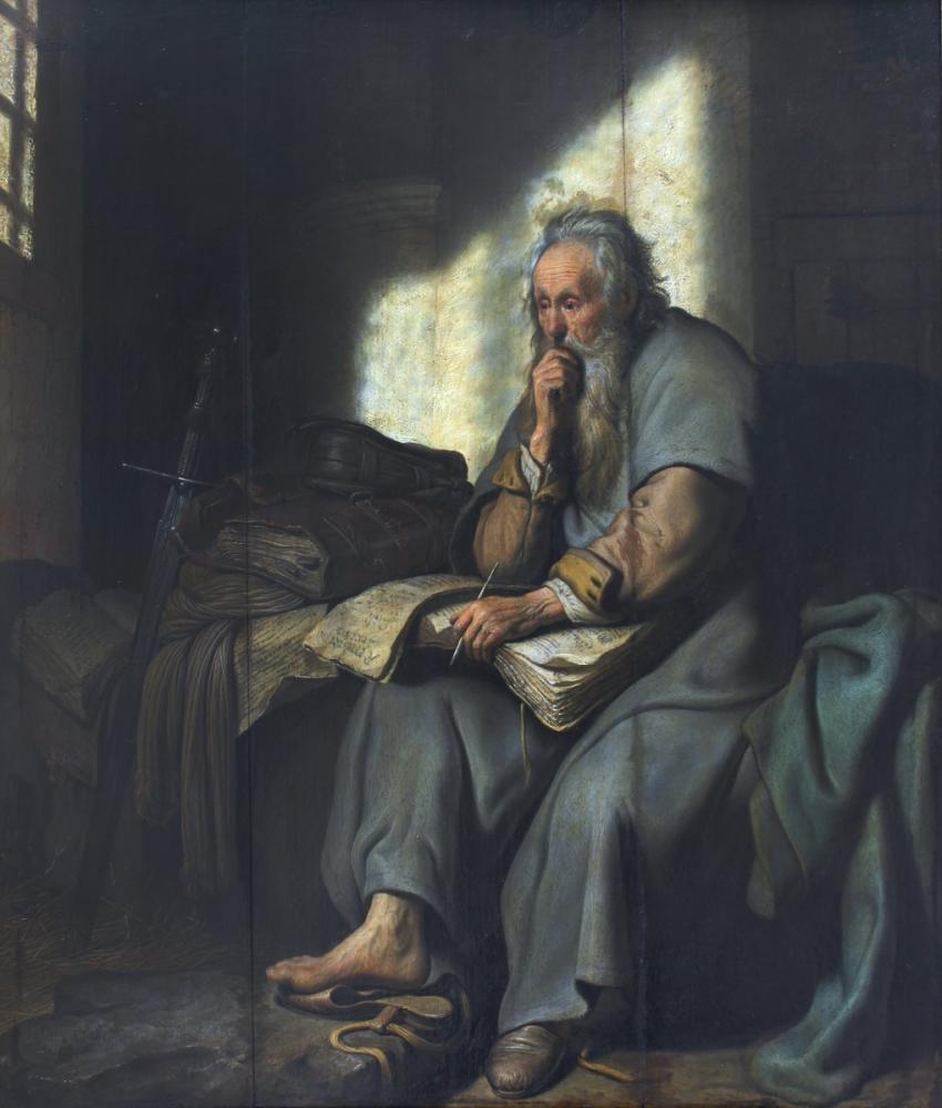 Rembrandt van Rijn, Paul Hapishanede, Kanvas Tablo, Rembrandt, kanvas tablo, canvas print sales