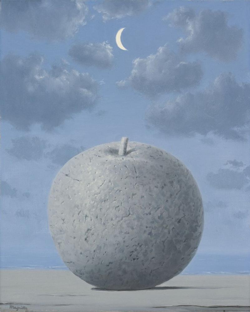 Rene Magritte Seyahat Hatırası Eşya, Kanvas Tablo, René Magritte, kanvas tablo, canvas print sales