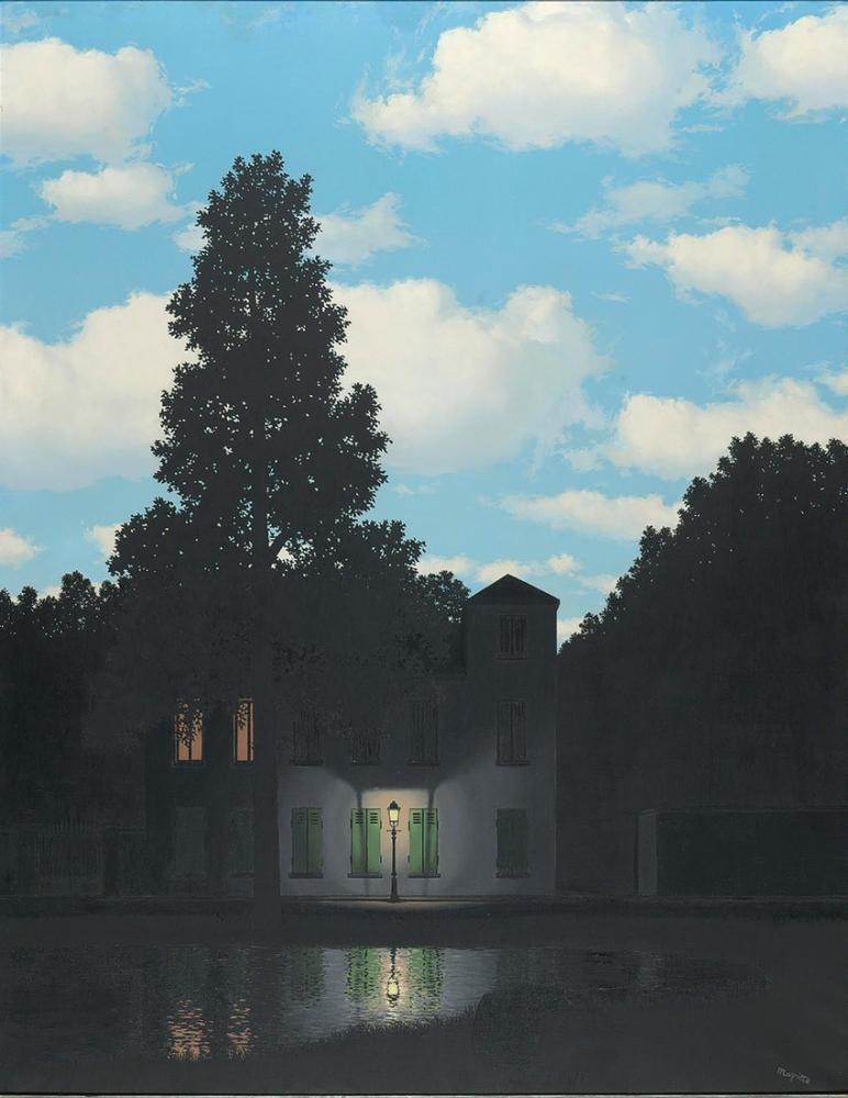 Rene Magritte Işık İmparatorluğu, Kanvas Tablo, René Magritte, kanvas tablo, canvas print sales