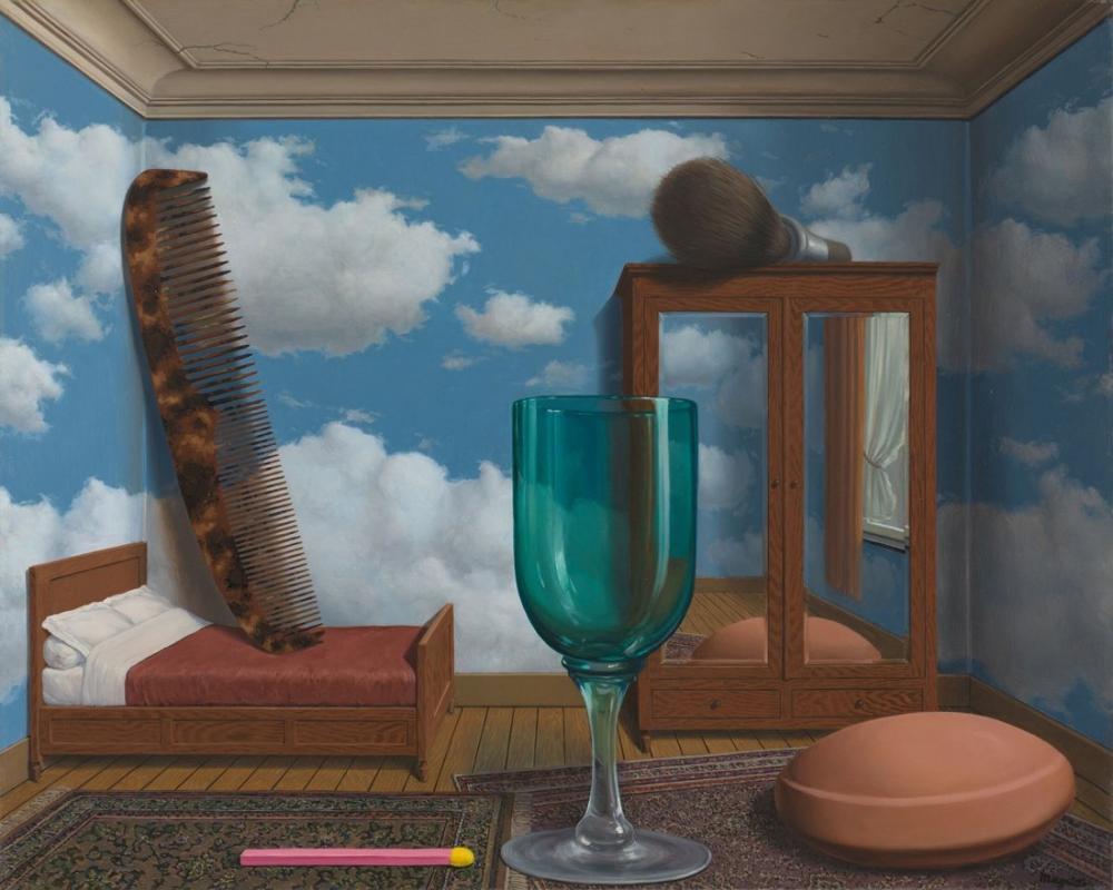 Rene Magritte Kişisel Değerler, Kanvas Tablo, René Magritte, kanvas tablo, canvas print sales