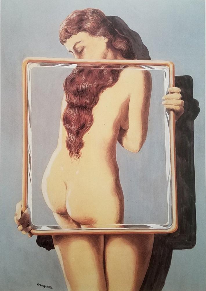 Rene Magritte Tehlikeli İrtibatlar, Kanvas Tablo, René Magritte, kanvas tablo, canvas print sales