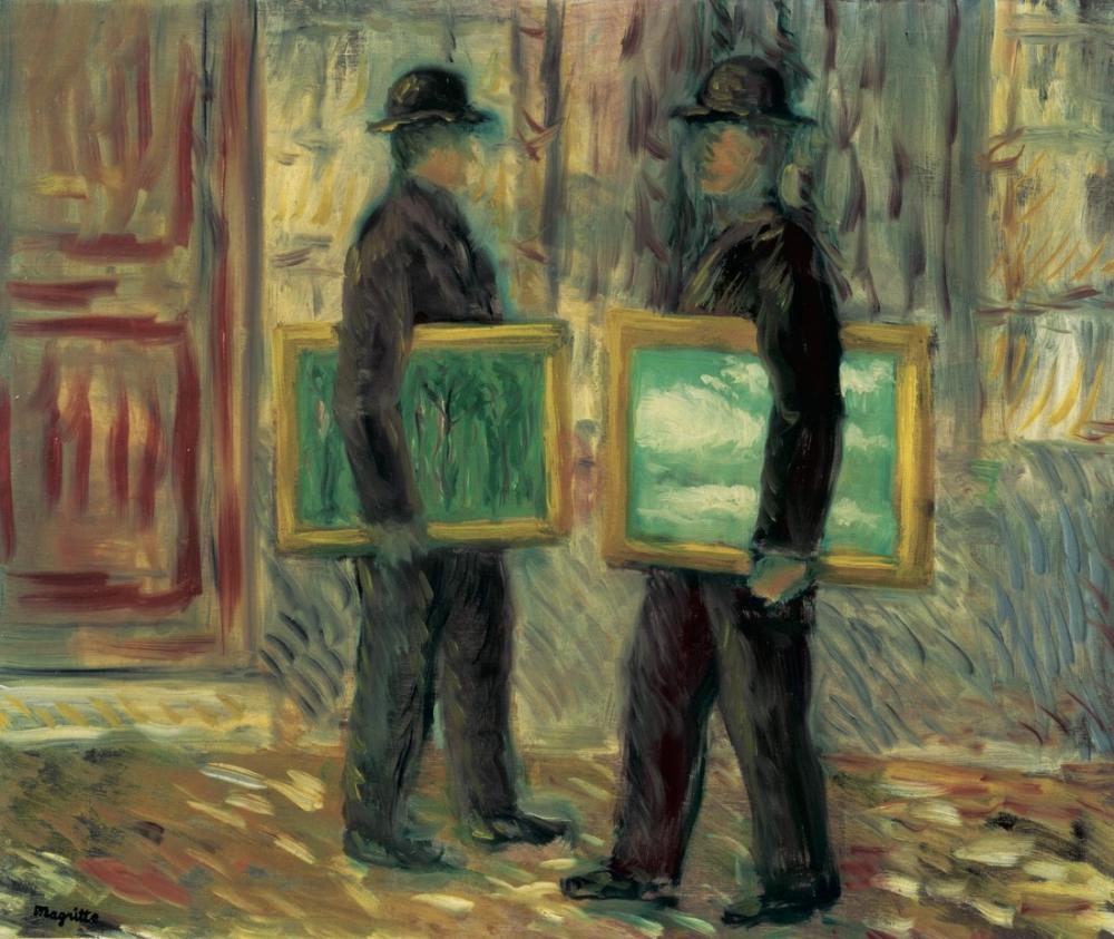Rene Magritte Beşinci Sezon, Kanvas Tablo, René Magritte, kanvas tablo, canvas print sales