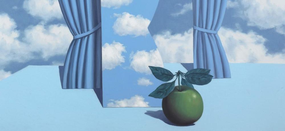 Rene Magritte Güzel Dünya, Kanvas Tablo, René Magritte, kanvas tablo, canvas print sales