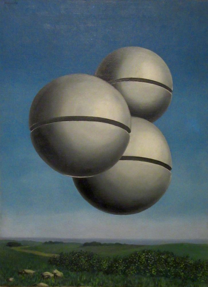 Rene Magritte Uzayın Sesi, Kanvas Tablo, René Magritte, kanvas tablo, canvas print sales